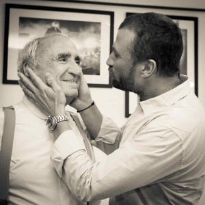 Alexandre et Claude Brasseur